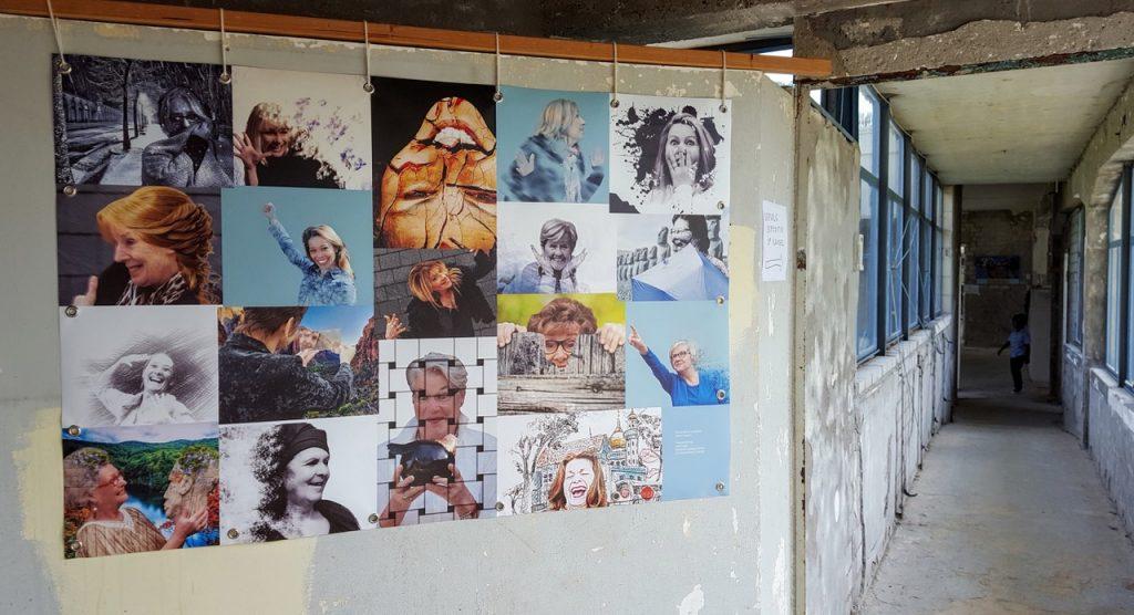 Portretten deelnemende kunstenaars voor expositie in Zonnestraal Hilversum